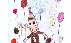 Barbod Rahbari . 7 years old